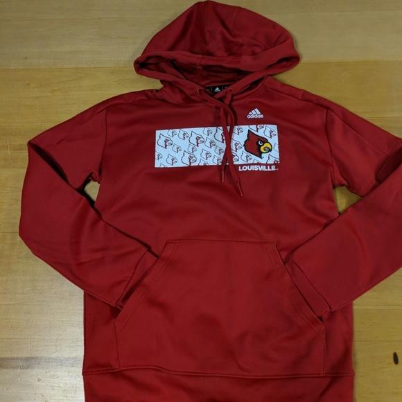 Adidas Louisville Cardinals hoodie NWT